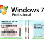 Windows 7 Professional – COA (Gebraucht)