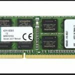 Kingston KCP316SD8/8 Notebook Arbeitsspeicher 8GB (1600MHz, SODIMM, DDR3, 1,5V, CL11, 204-pin) LAPTOP RAM